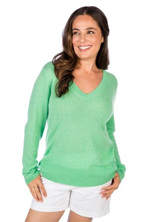 100% Cashmere Santa Monica Easy Pullover