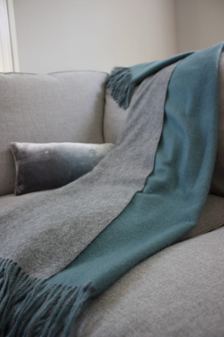 The Double Face Essential Throw
