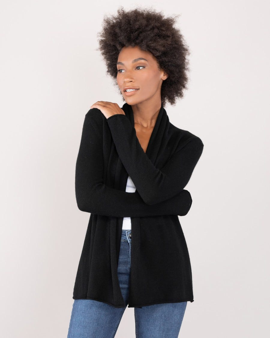 100% Cashmere Mini Duster