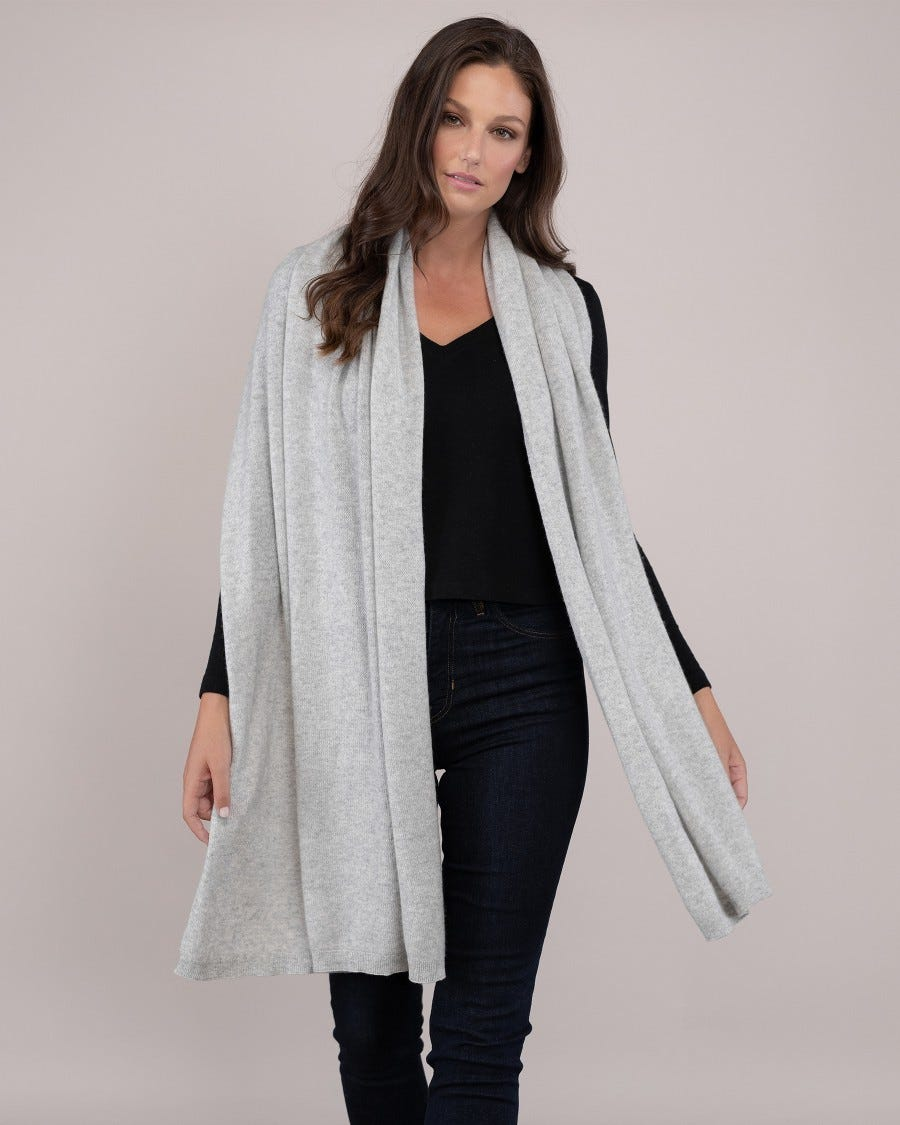100% Cashmere Luxe Travel Wrap