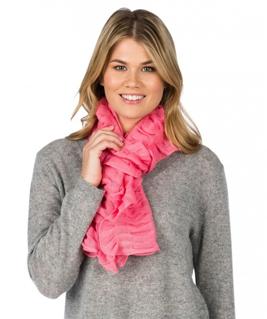 Merino Ruched Scarf