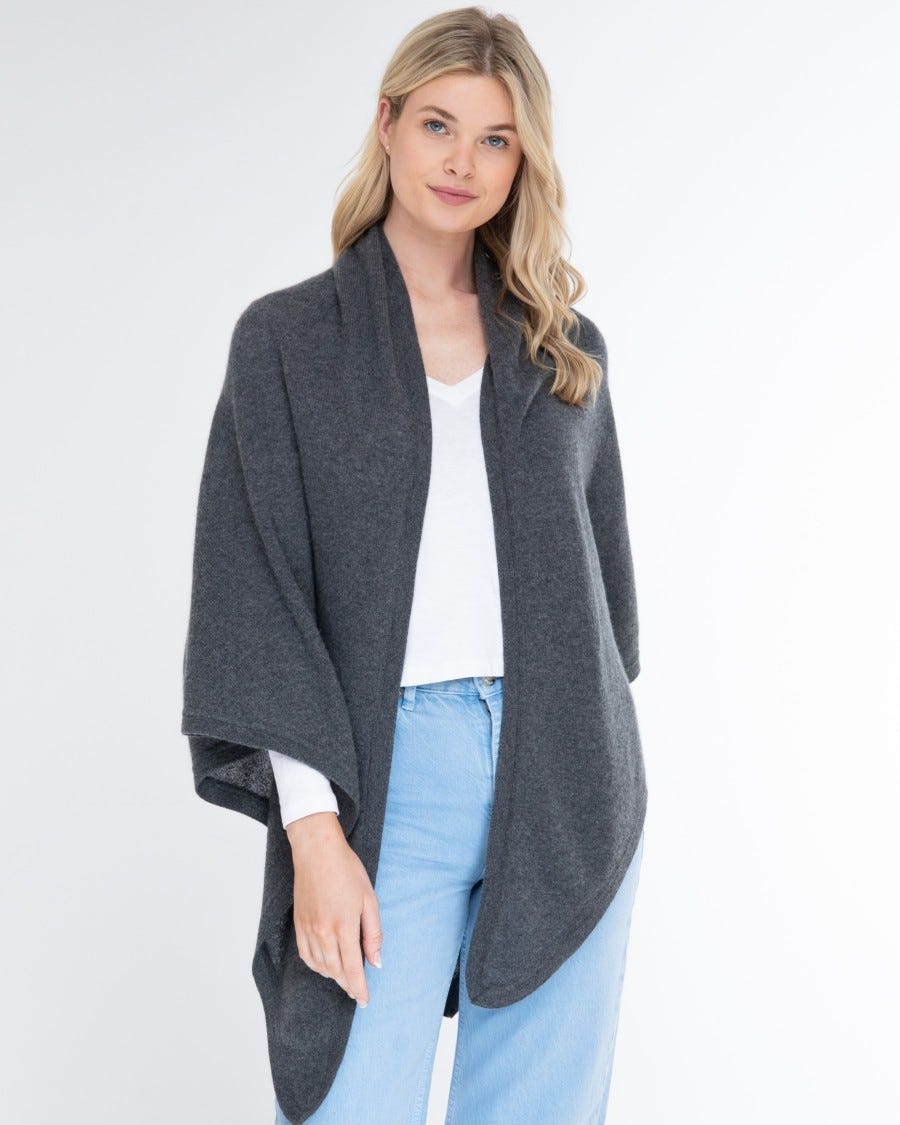 Cashmere Luxe Triangle Wrap