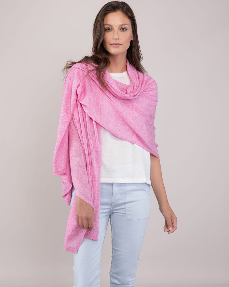 Silk Cashmere Travel Wrap