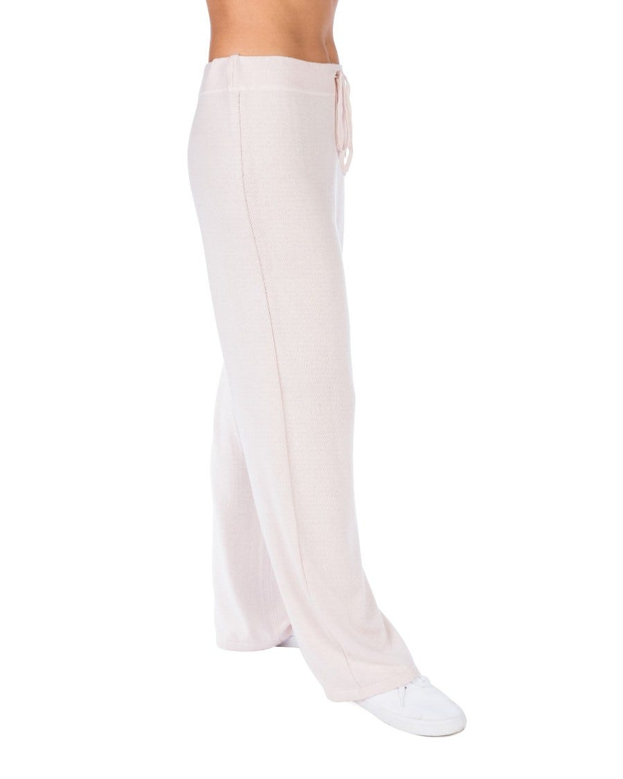 Silk Cashmere Laid Back Straight Pant