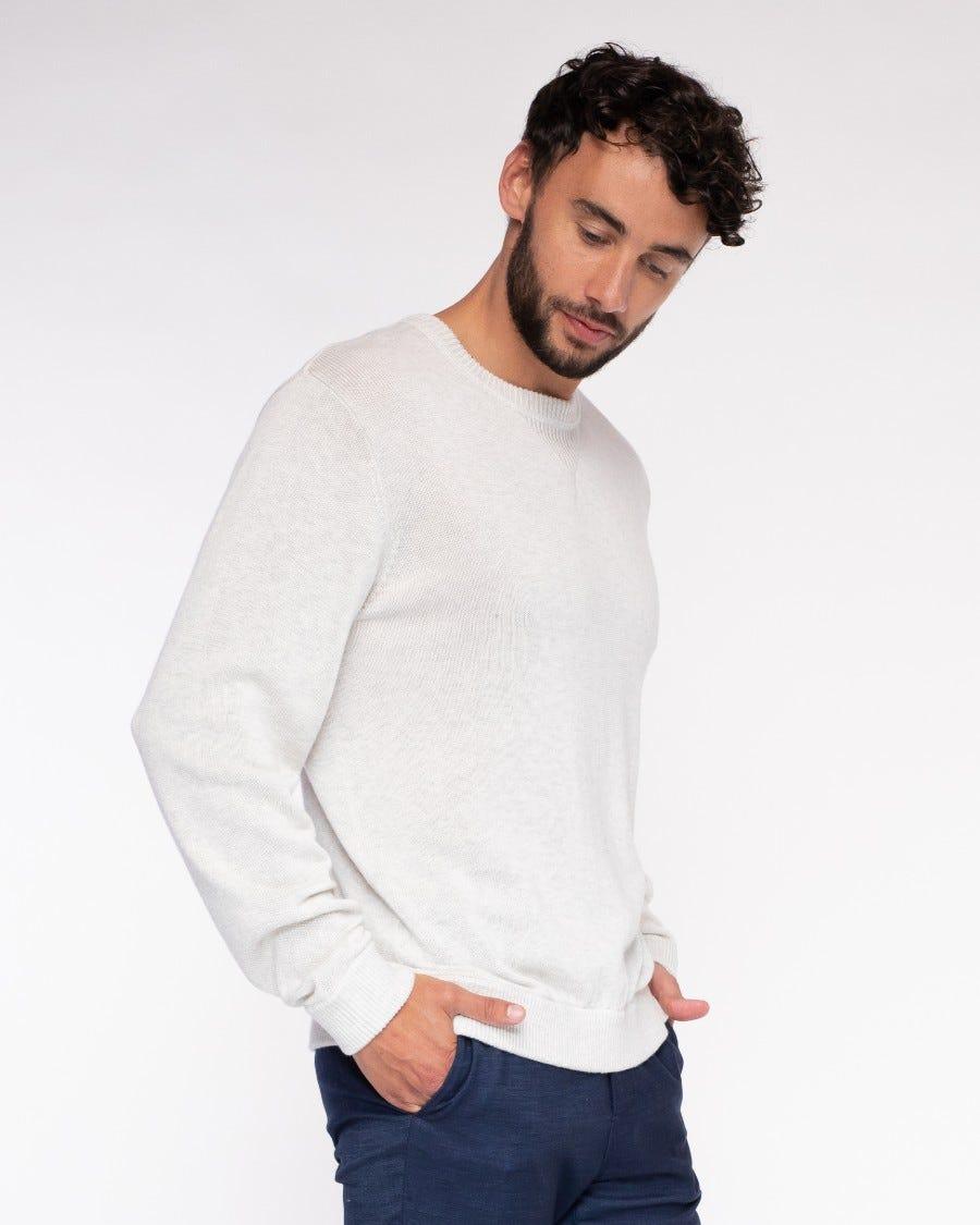 Men's Cotton Cashmere Weekend Sweatshirt