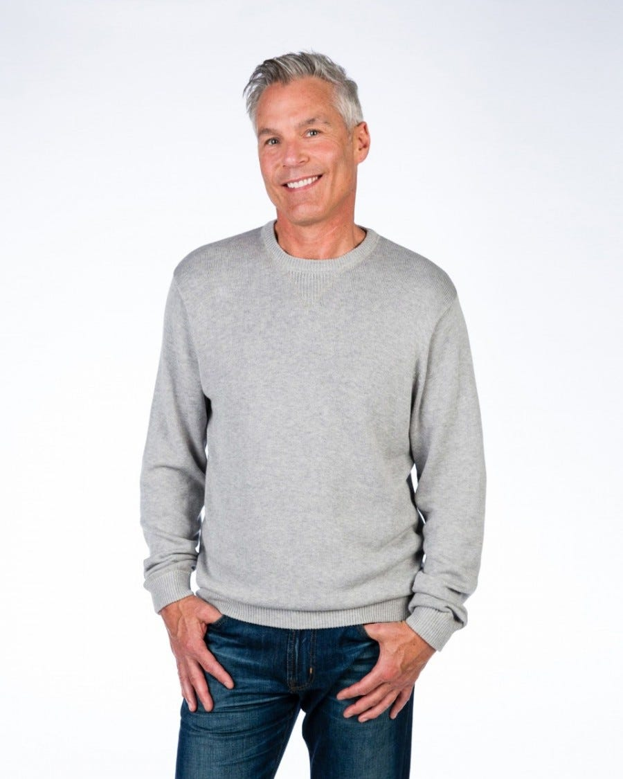 Men's Cotton Cashmere Weekend Sweatshirt
