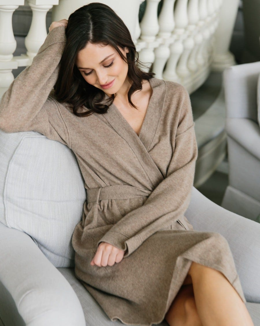 Cashmere Relax & Renew Lounge Robe