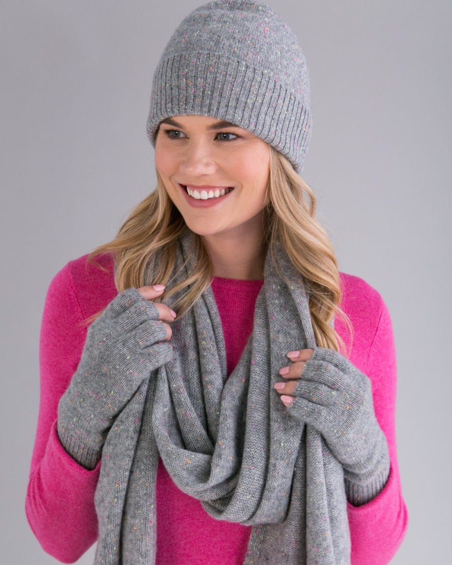 100% Cashmere Essential Fingerless Glove