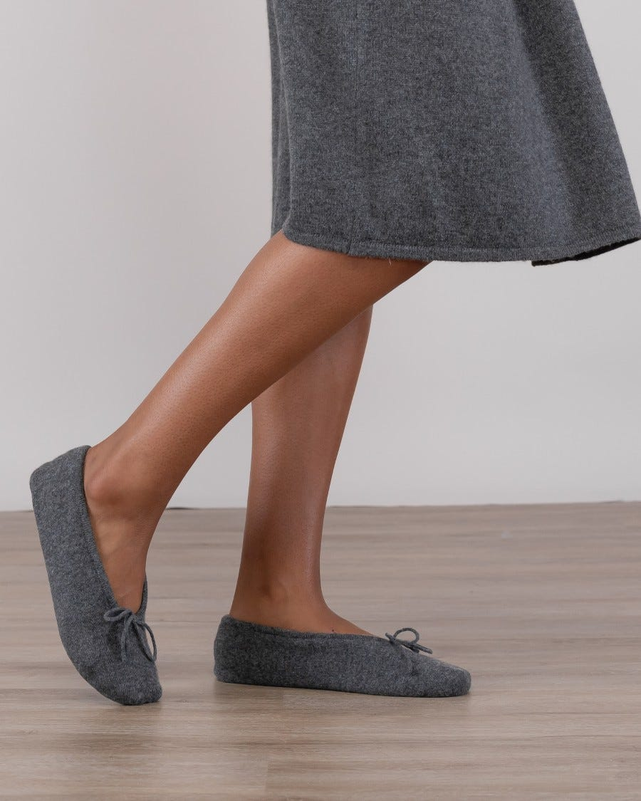 Cashmere Relax & Renew Slippers