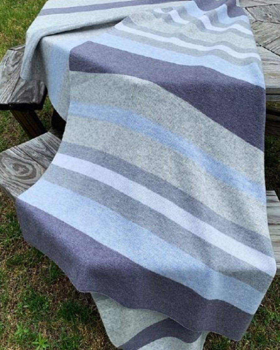 Merino Cashmere Habitat Knit Throw