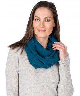 100% Cashmere Essential Infinity Scarf